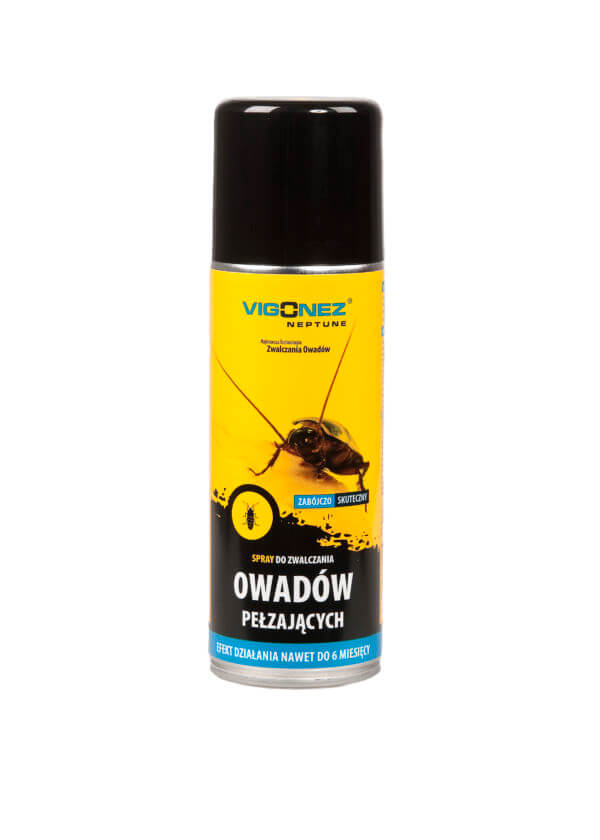 Spray do zniechęcania owadów pełzających