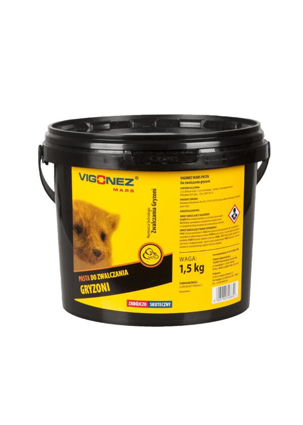 Pasta do zwalczania gryzoni 1,5kg
