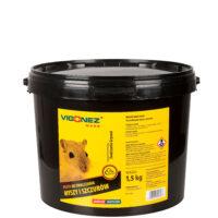 Pasta do zwalczania myszy i szczurów 1,5kg - zestaw